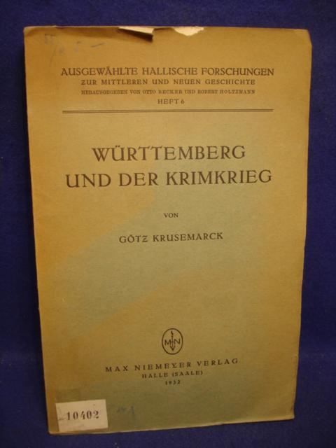 Württemberg und der Krimkrieg.