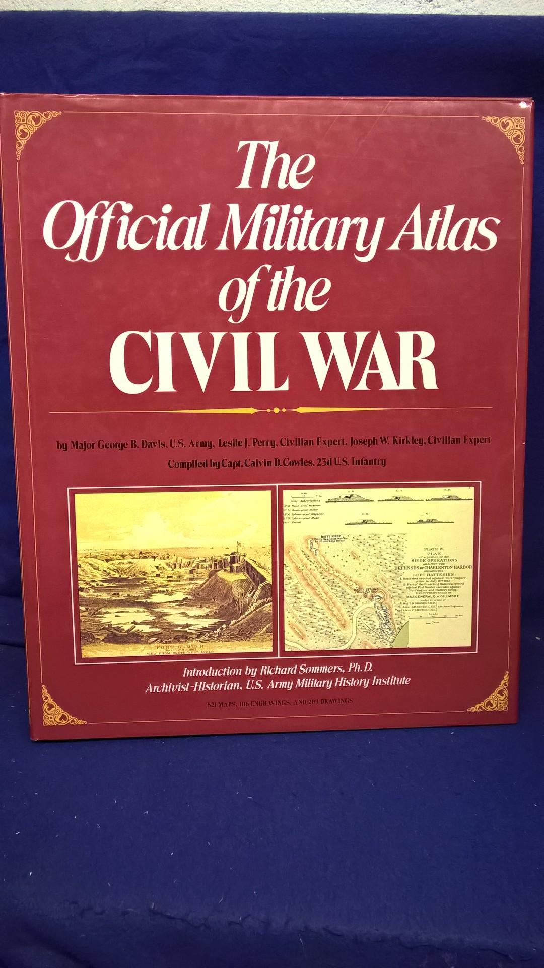 The Official Military Atlas of the Civil War. Großformatiges Prachtwerk mit über 800 farbigen Schlachtplänen, 106 Kupferstichen und 209 Zeichnungen.