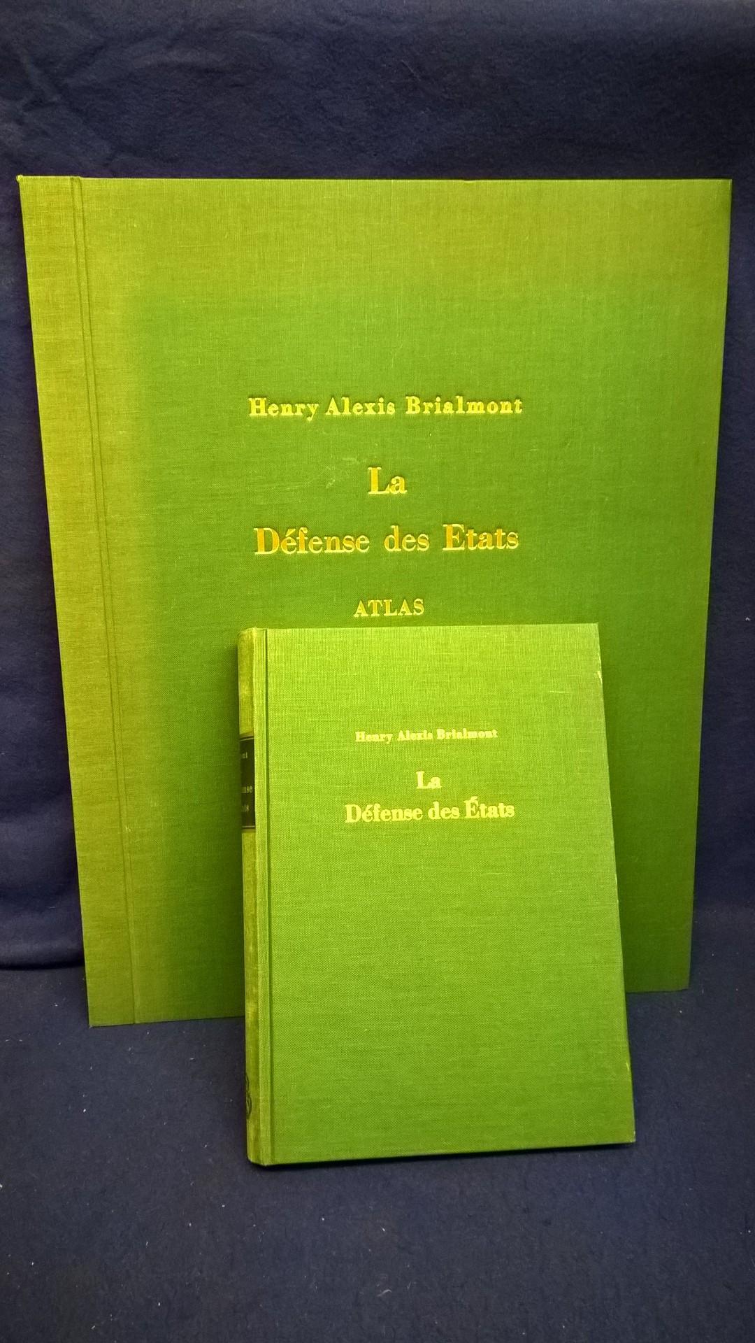 La défense des états et la fortification a la fin du XIXe siècle. Text- und Atlasband. Selten!