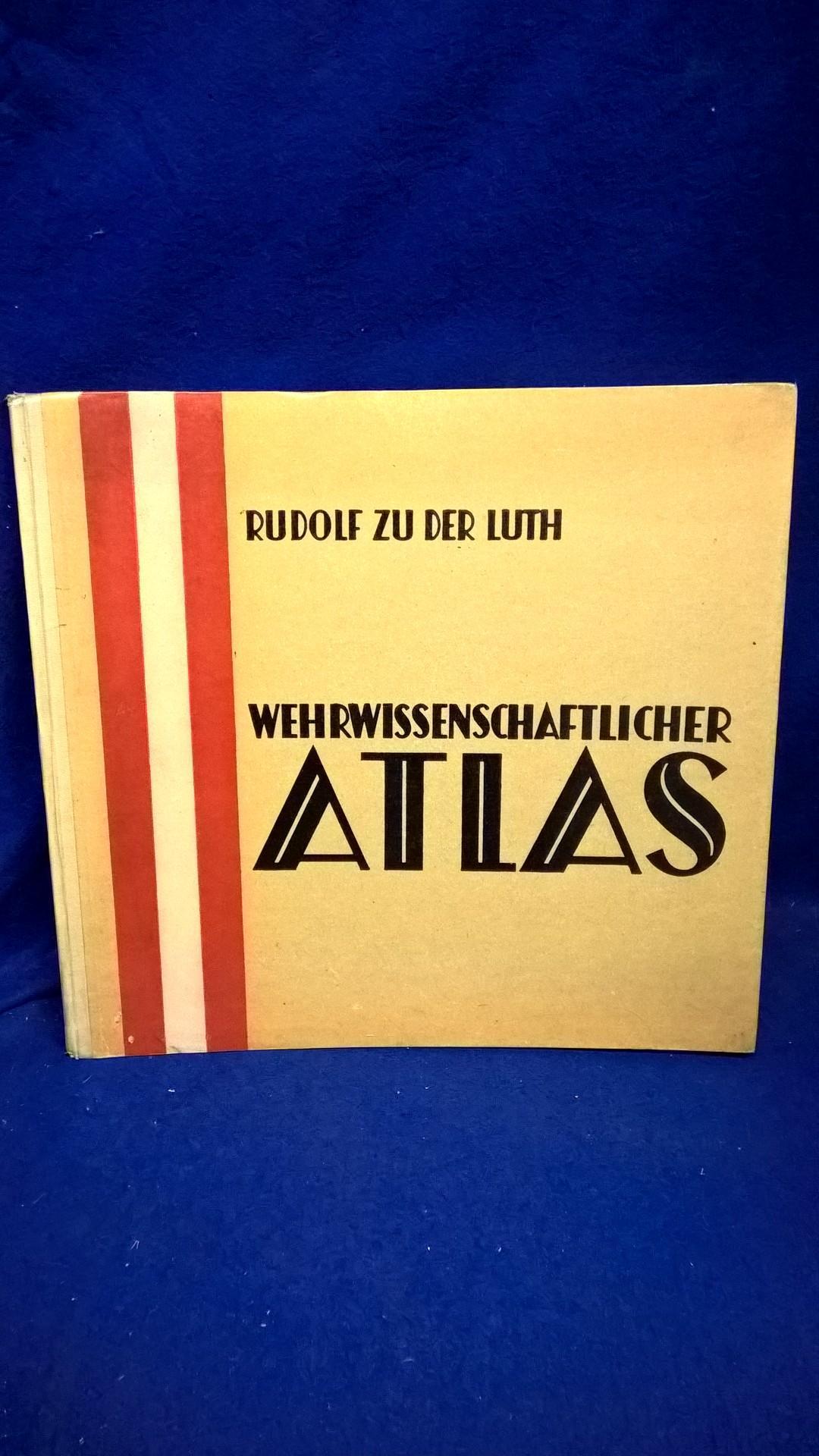 Wehrwissenschaftlicher Atlas.1937.