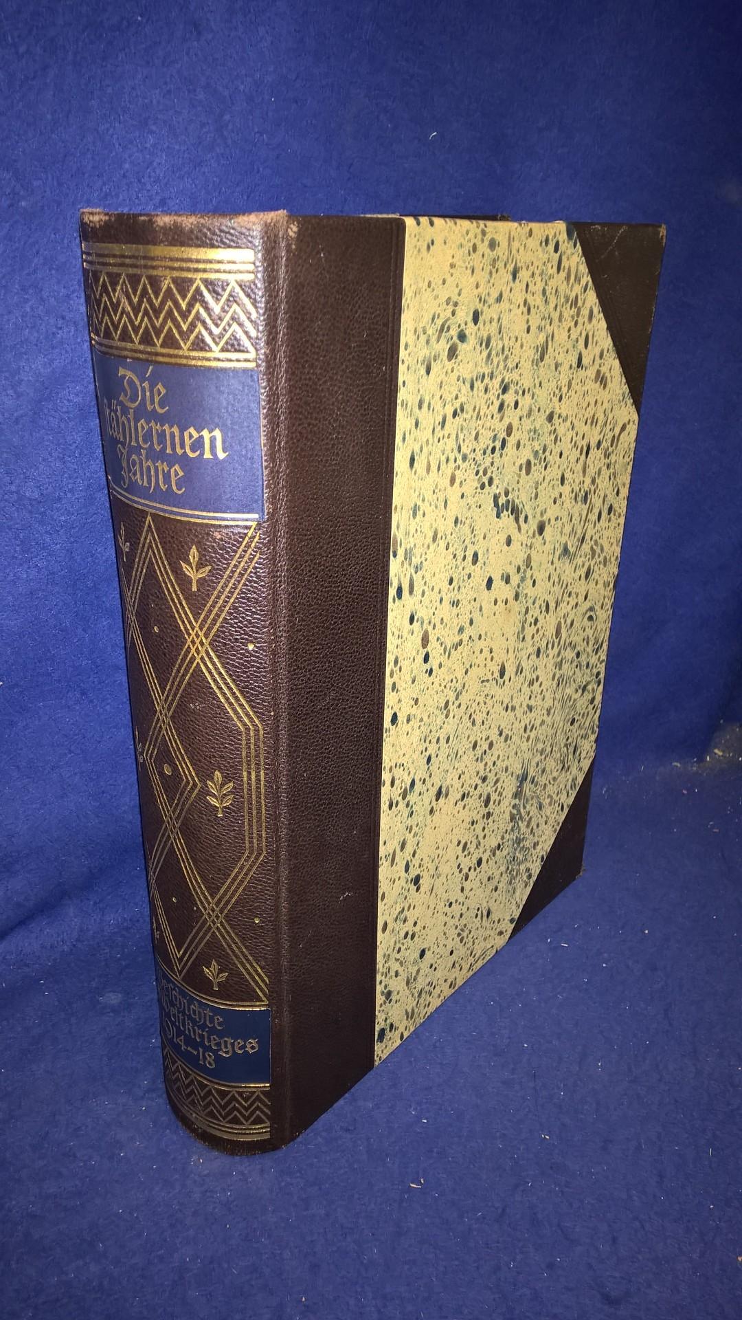 Die stählernen Jahre. Das deutsche Buch vom Weltkrieg.