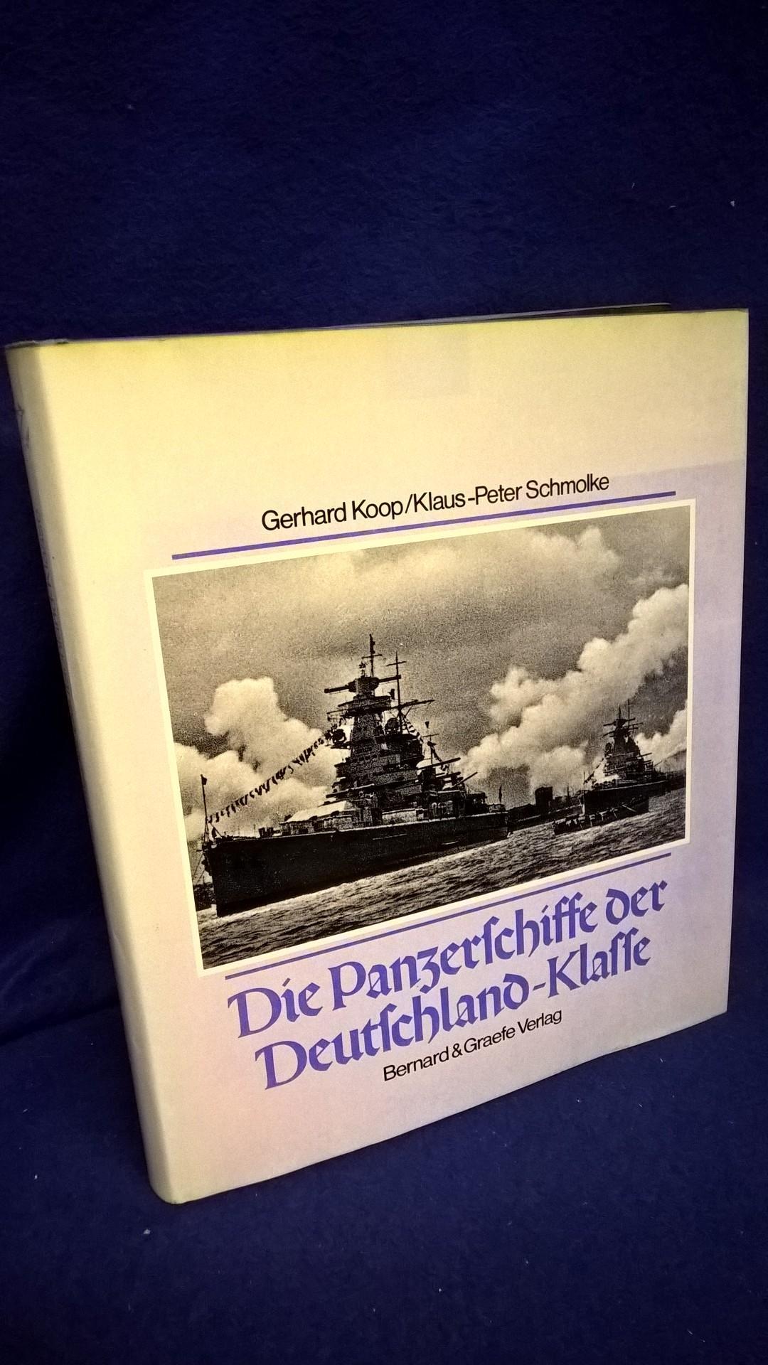 Die Panzerschiffe der Deutschland - Klasse. Deutschland/Lützow-Admiral Scheer-Admiral Graf Spee