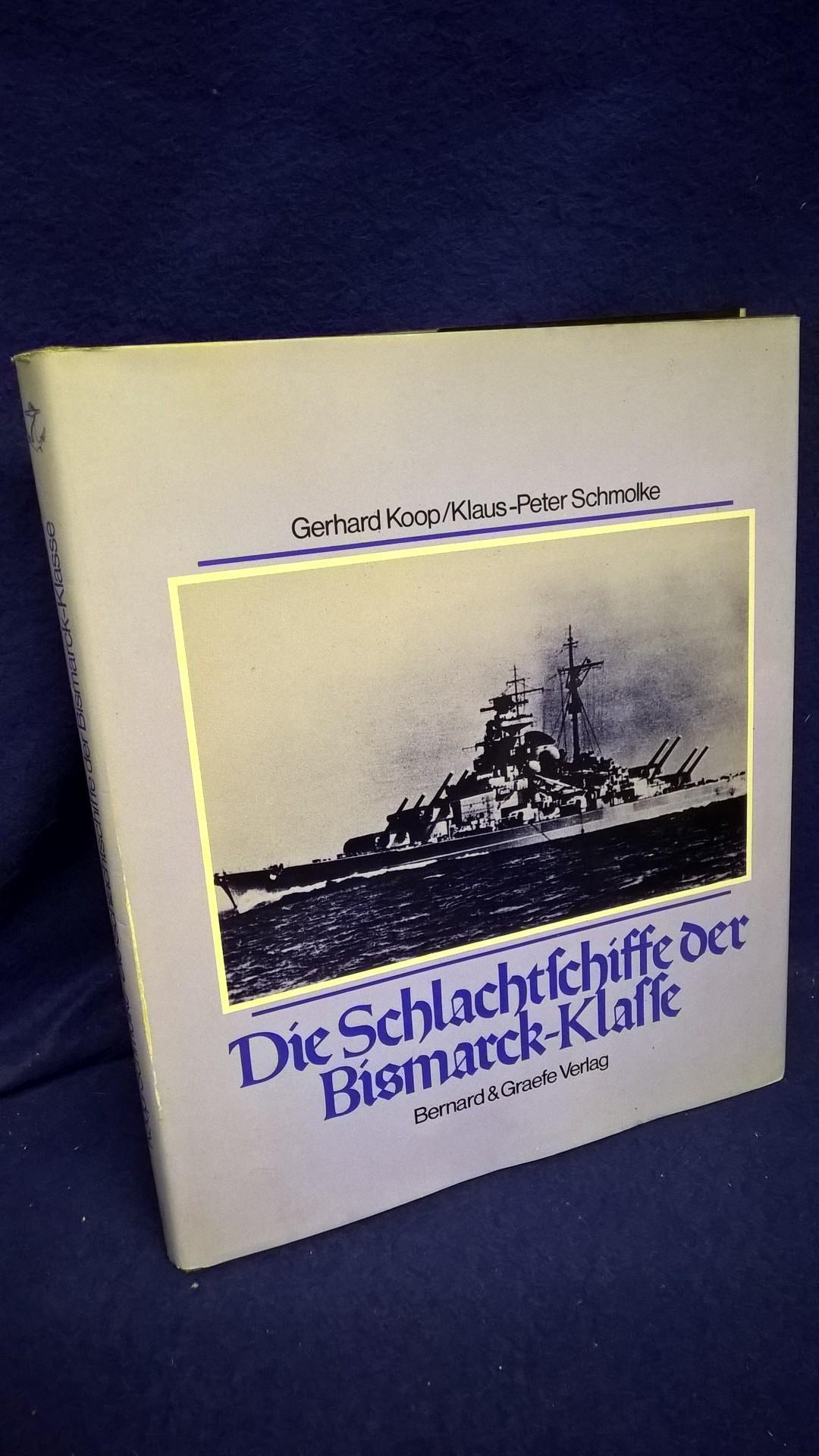 """Die Schlachtschiffe der """"Bismarck""""-Klasse. """"Bismarck"""" und """"Tirpitz"""": Höhepunkt und Ende des deutschen Schlachtschiffbaus."""