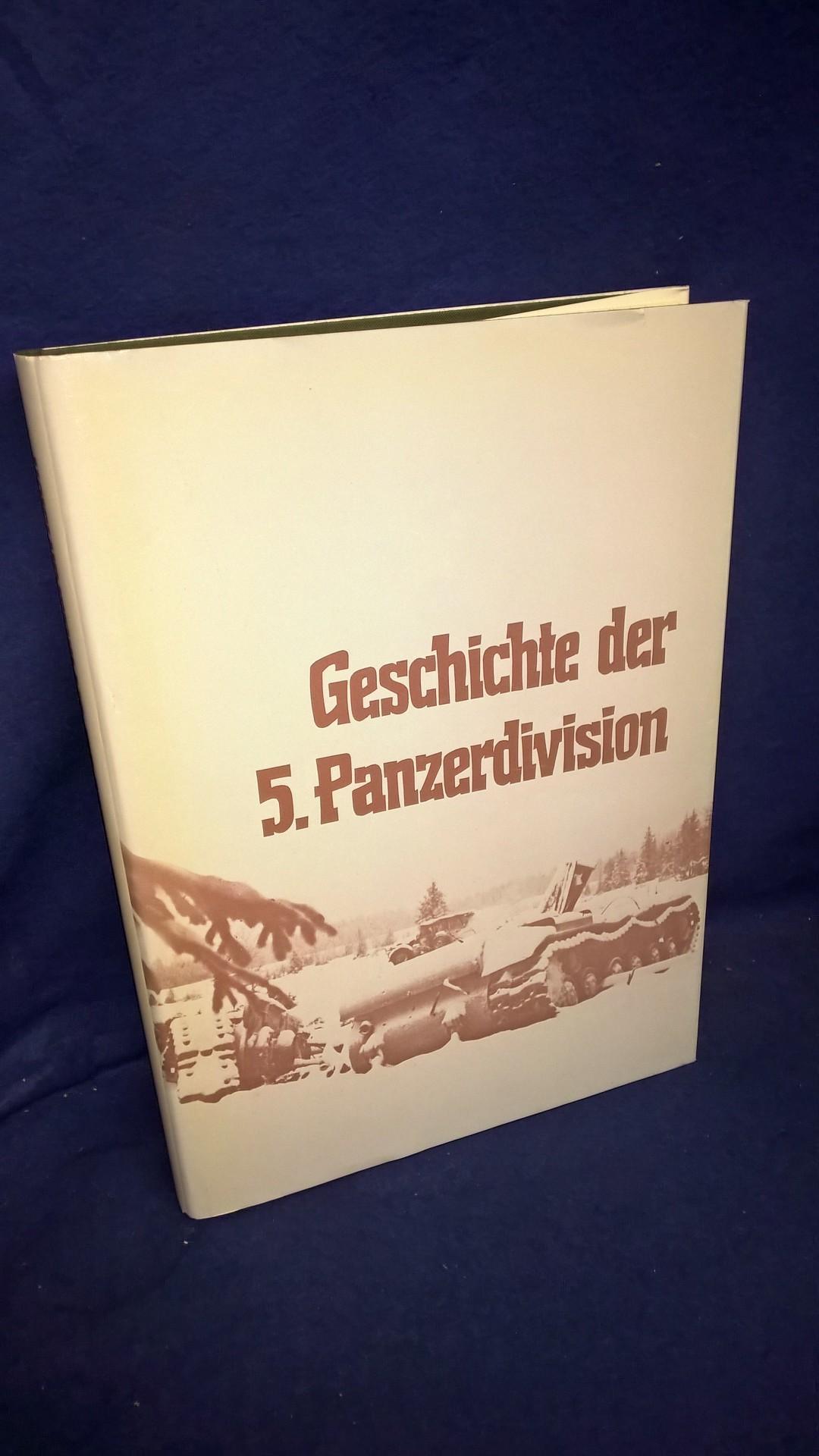 Die Geschichte der 5. Panzerdivision 1938 bis 1945.