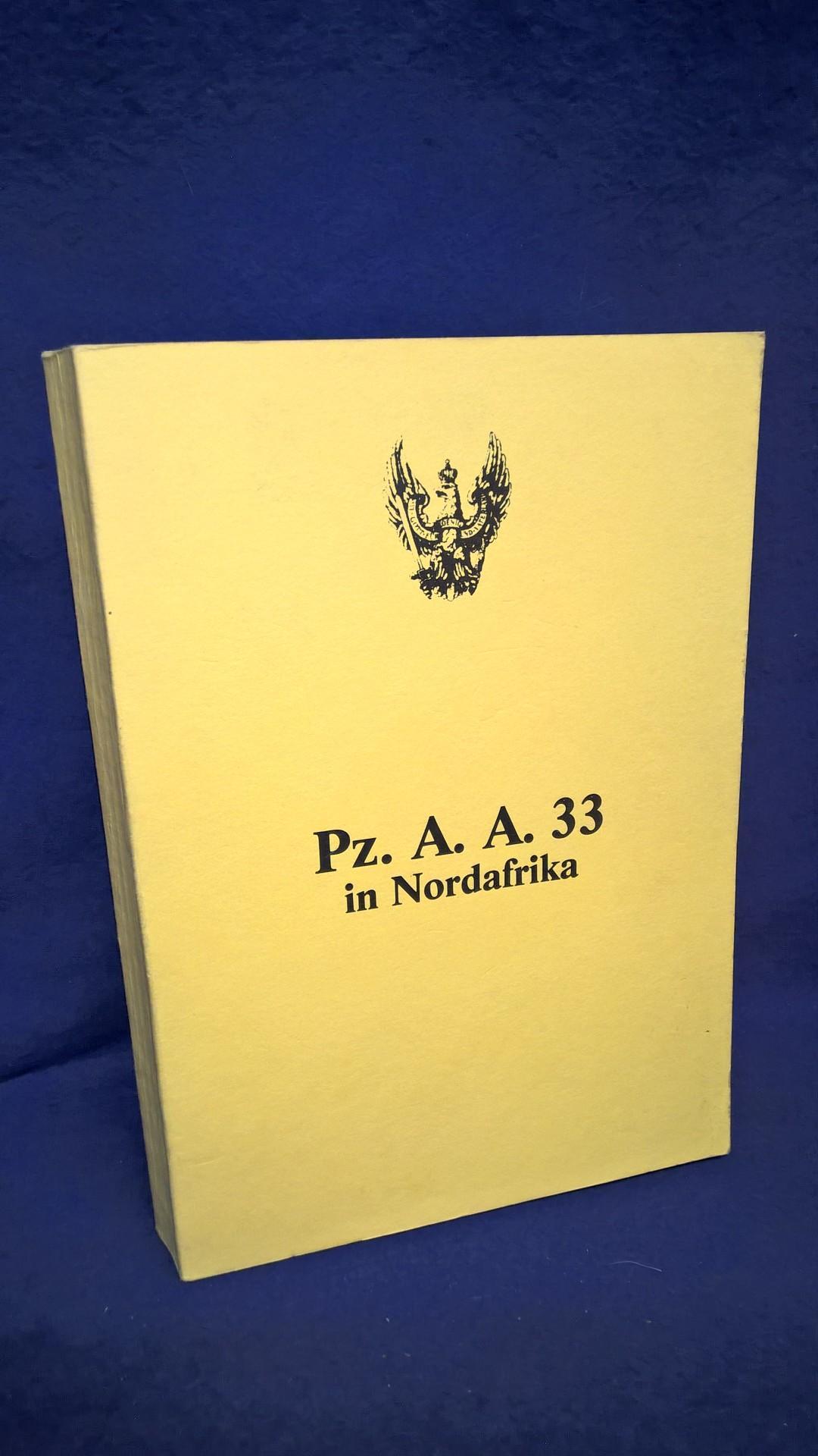 Pz.A.A.33 in Nordafrika.
