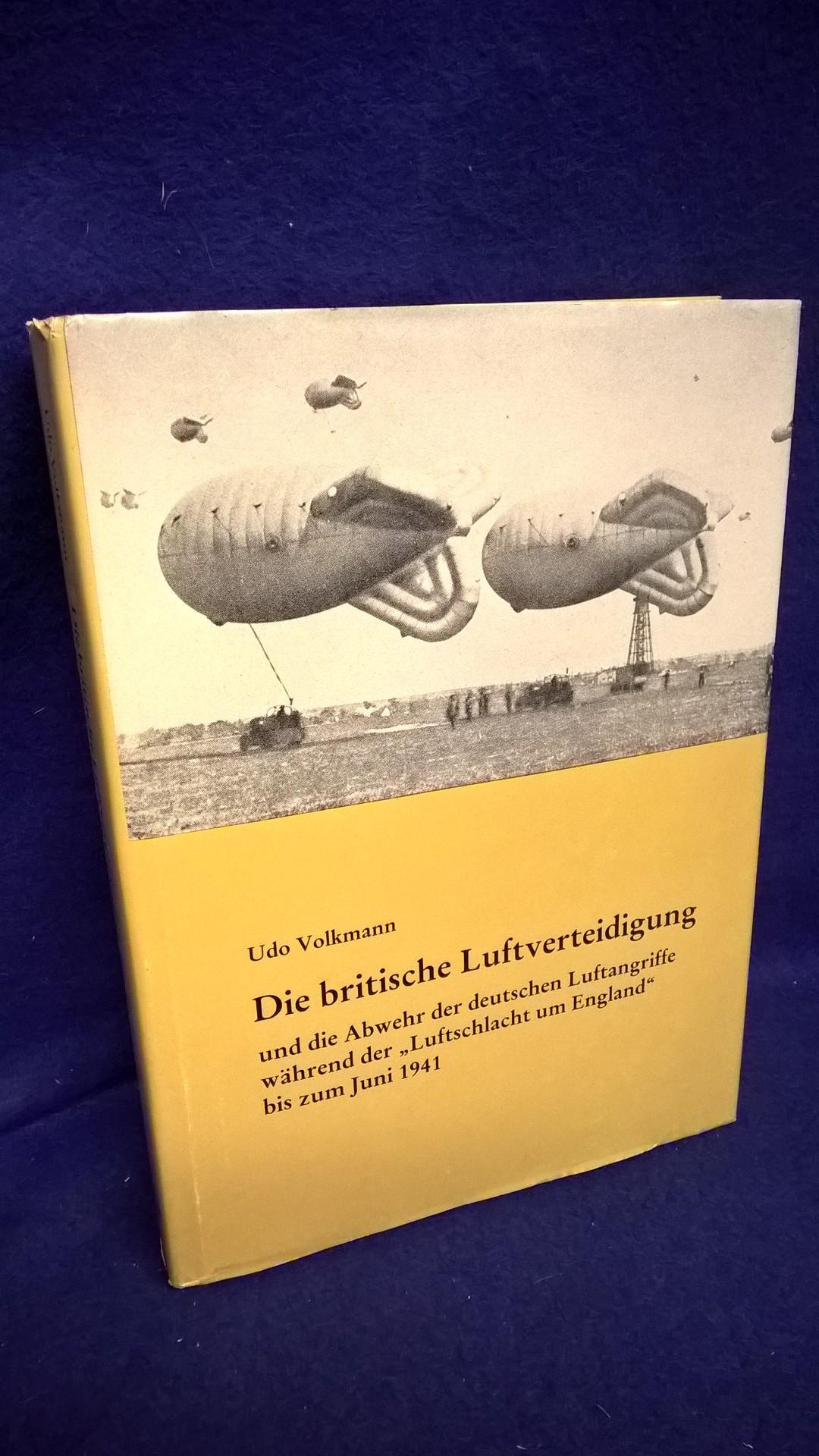 """Die britische Luftverteidigung und die Abwehr der deutschen Luftangriffe während der """"Luftschlacht um England"""" bis zum Juni 1941."""
