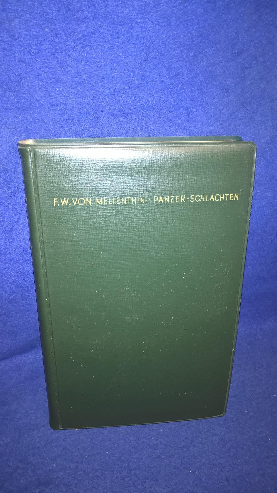 Die Wehrmacht im Kampf , Band 36 - Panzer-Schlachten - Eine Studie über den Einsatz von Panzerverbänden im 2.Weltkrieg