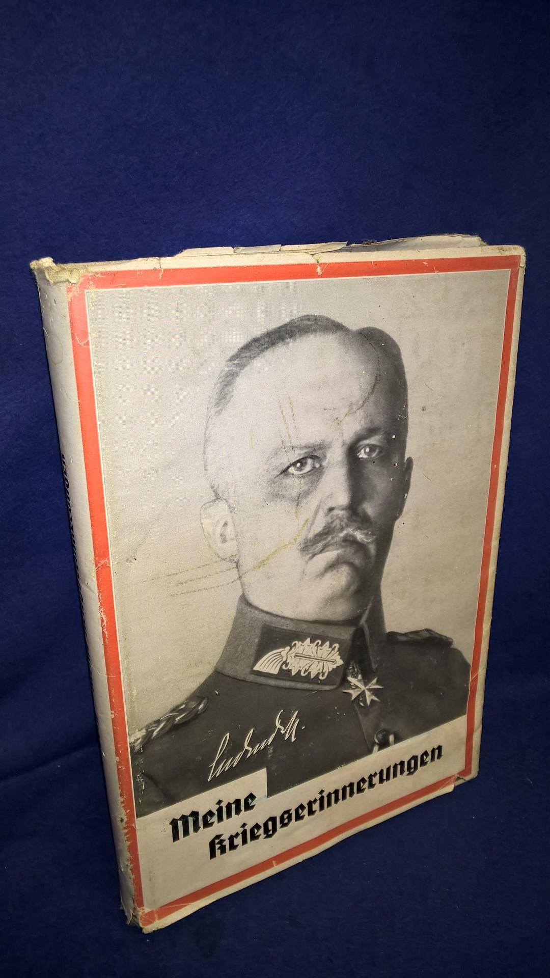 Meine Kriegserinnerungen 1914 - 1918. Volksausgabe!