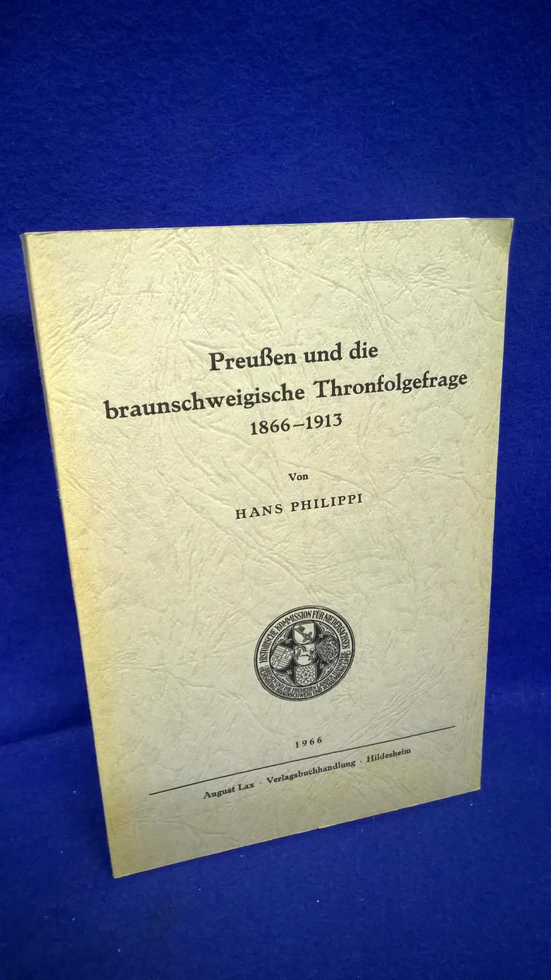 Preußen und die braunschweigerische Thronfolge 1866-1913.
