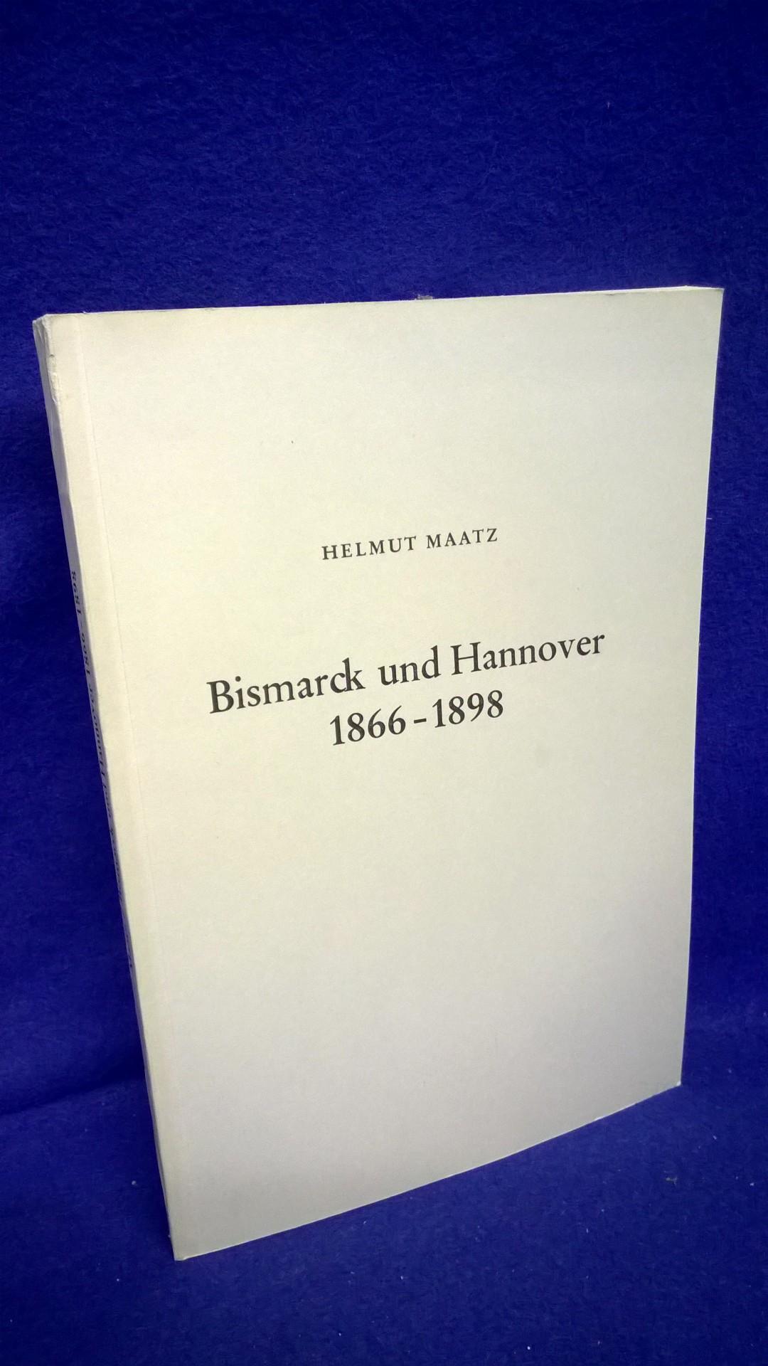 Bismarck und Hannover 1866-1898.
