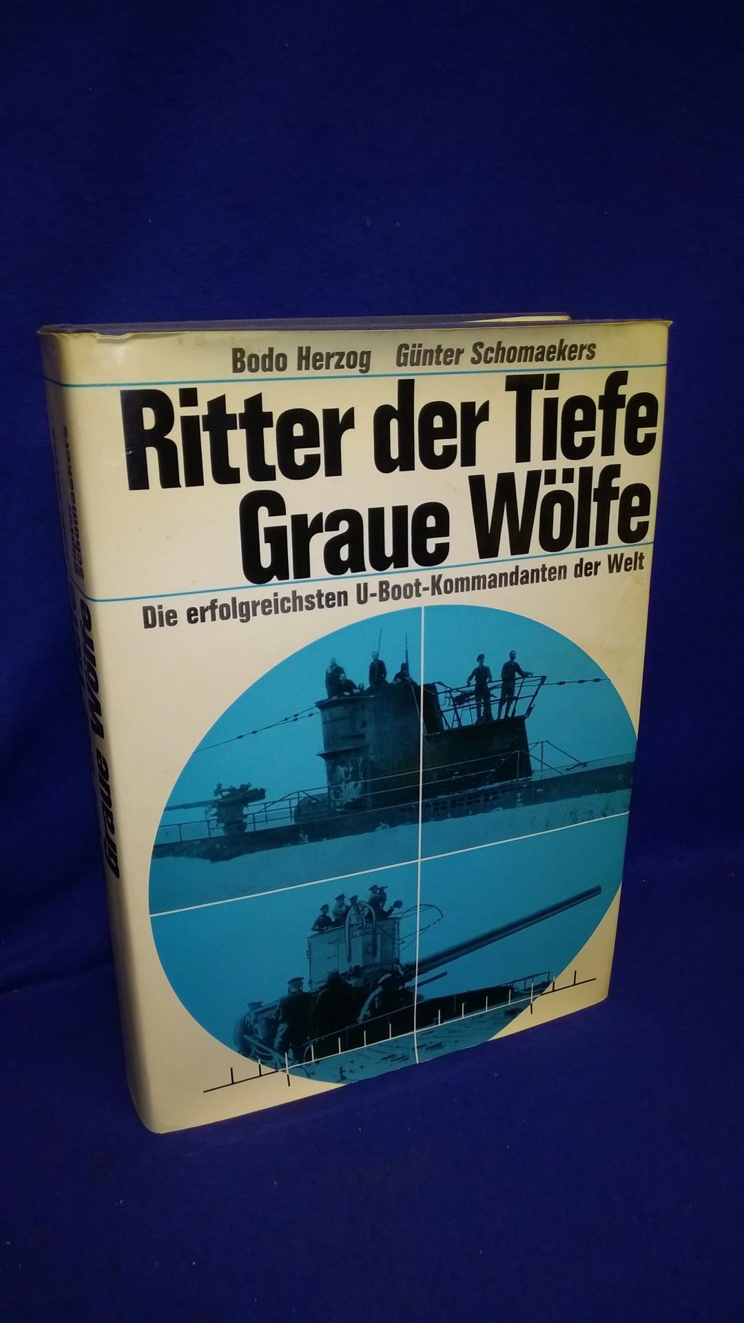 Ritter der Tiefe, graue Wölfe - Die erfolgreichsten U-Boot-Kommandanten der Welt.