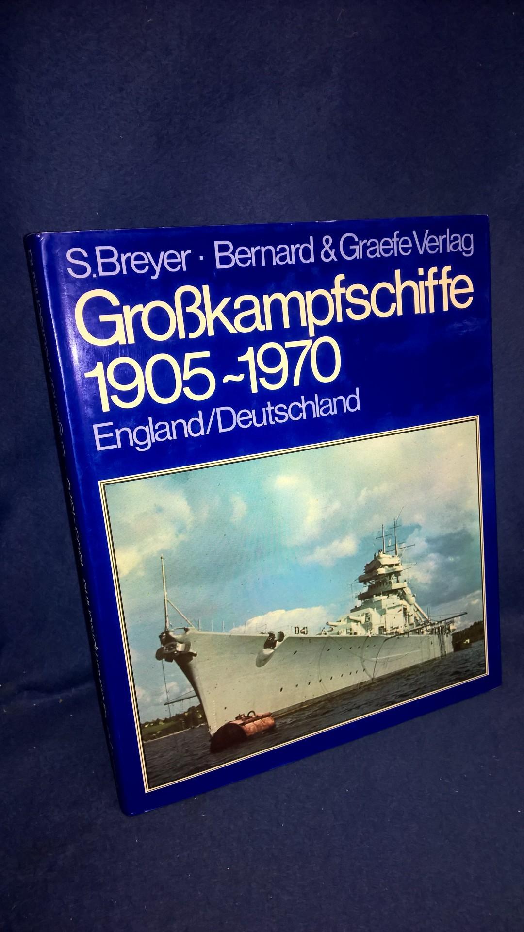Grosskampfschiffe 1905-1970. Wehrtechnik im Bild Band 1: England/Deutschland.