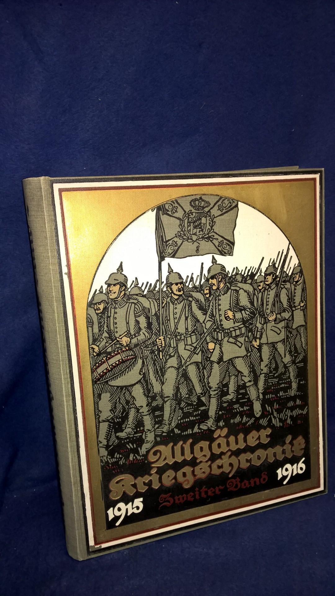 Allgäuer Kriegschronik 1915-1916, 2.Band. ( Lieferung 36-70)