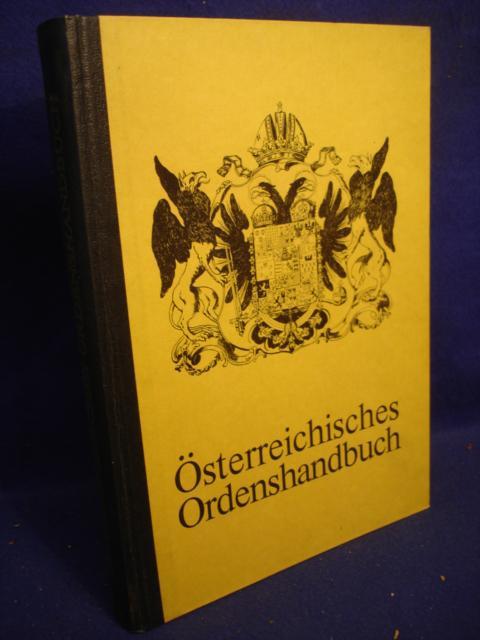Österreichisches Ordenshandbuch.