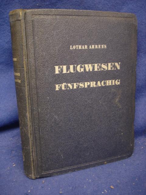 Taschenwörterbuch Flugwesen. Fünfsprachig. Deutsch / Englisch / Französisch / Italienisch / Spanisch.