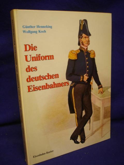 Die Uniform des deutschen Eisenbahners.