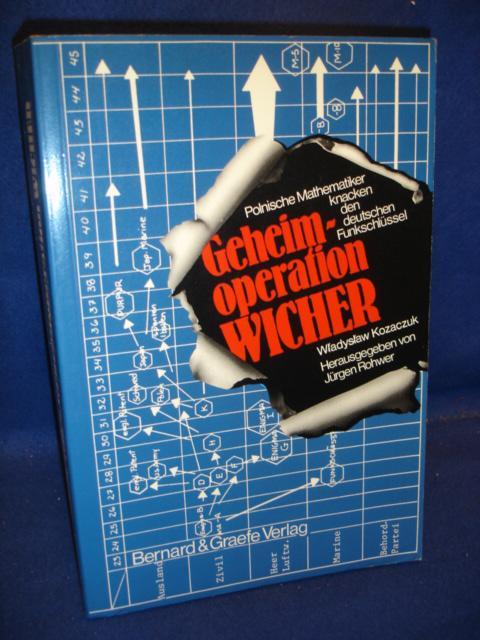 Geheimoperation Wicher. Polnische Mathematiker knacken den deutschen Funkschlüssel.