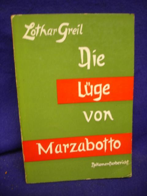 Die Lüge von Marzabotto, Dokumentarbericht