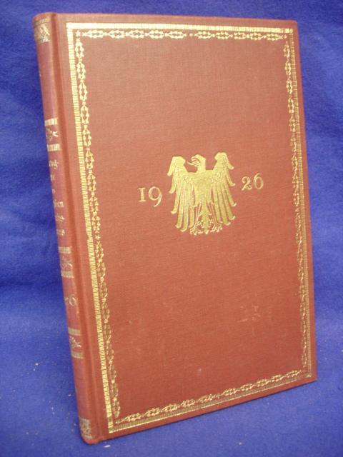 Rangliste des Deutschen Reichsheeres. Nach dem Stande vom 1. Mai 1926.