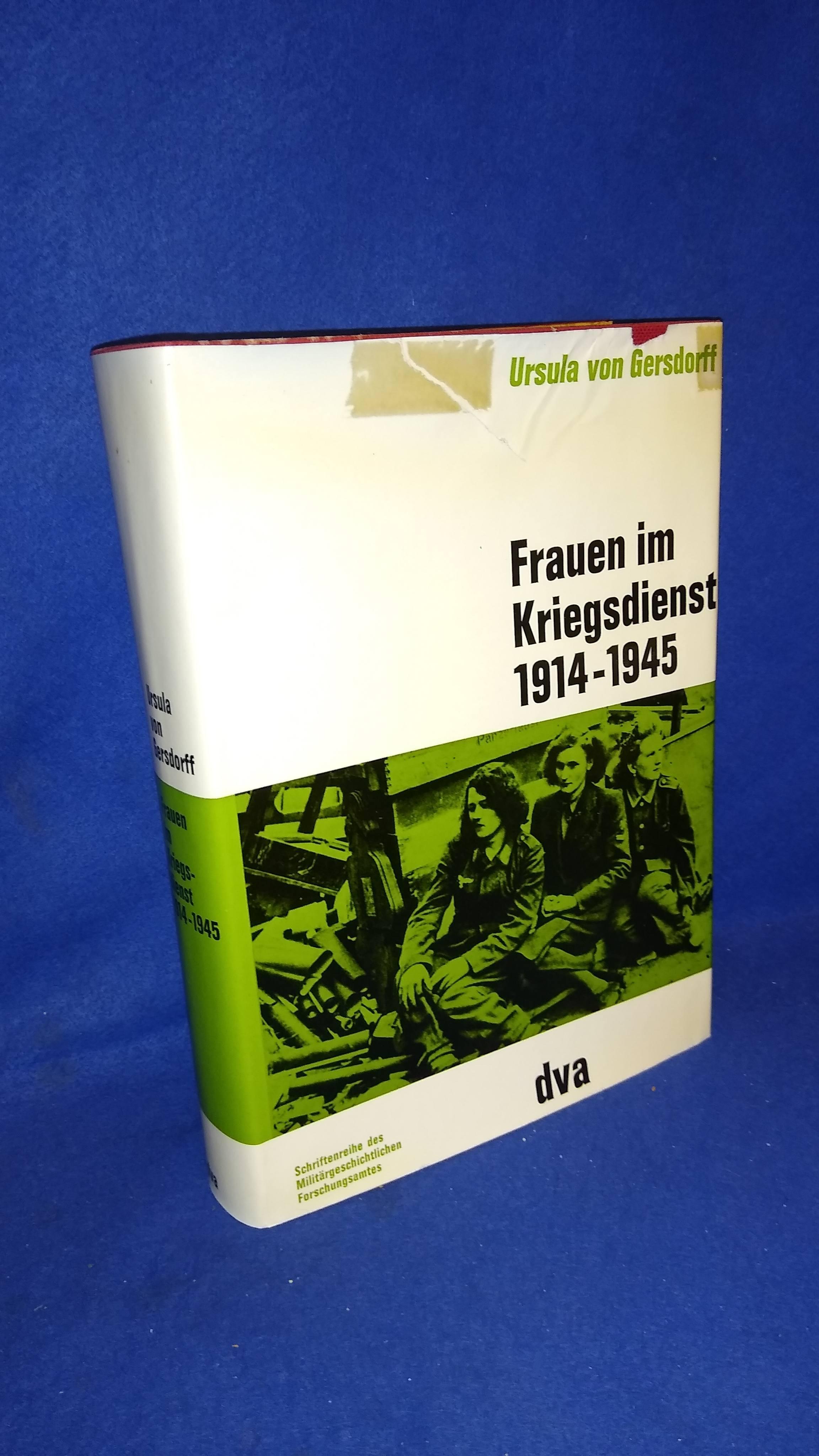 Beiträge zur Militär- und Kriegsgeschichte, Band 11: Frauen im Kriegsdienst 1914 - 1945.