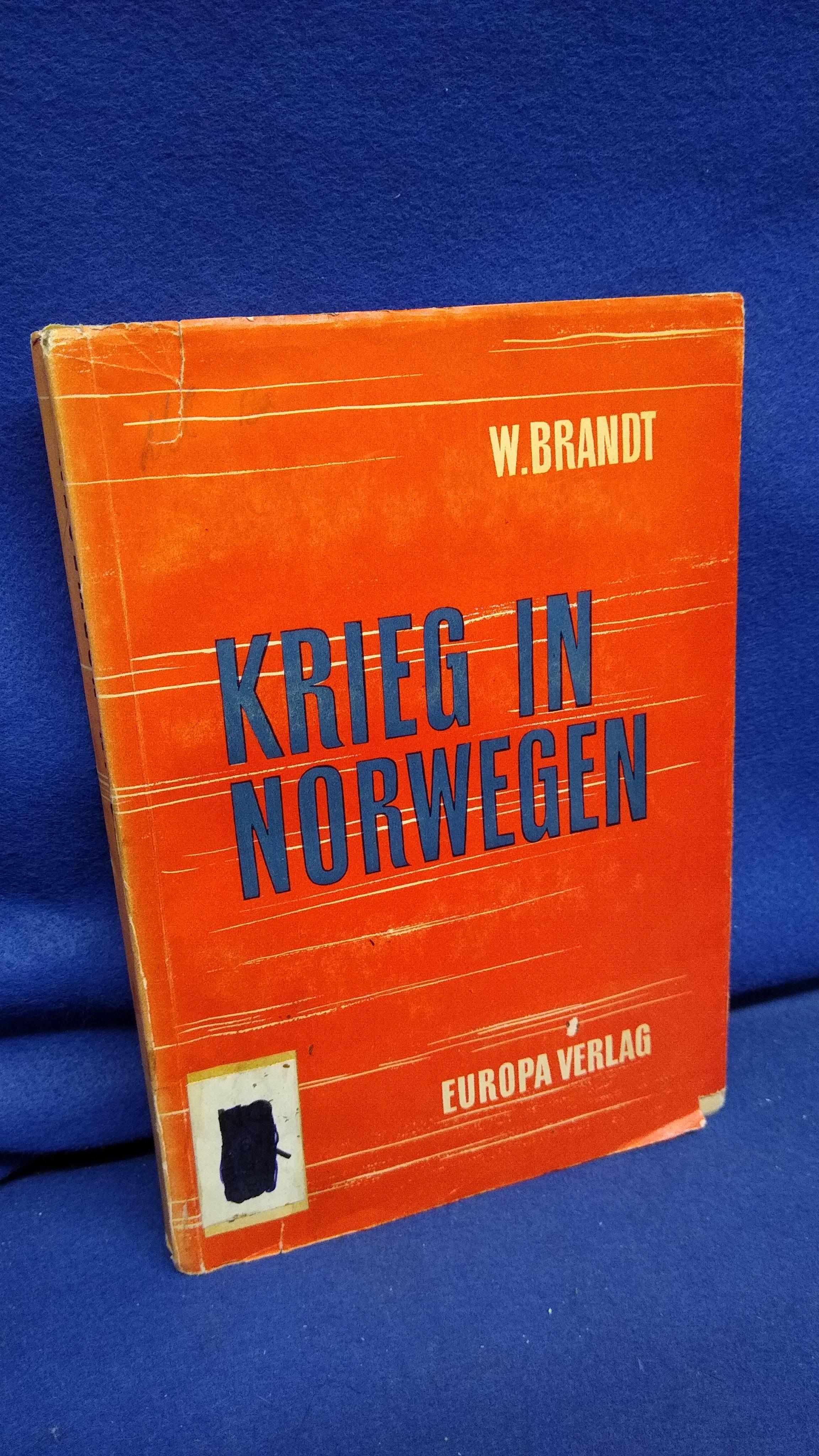 Krieg in Norwegen.