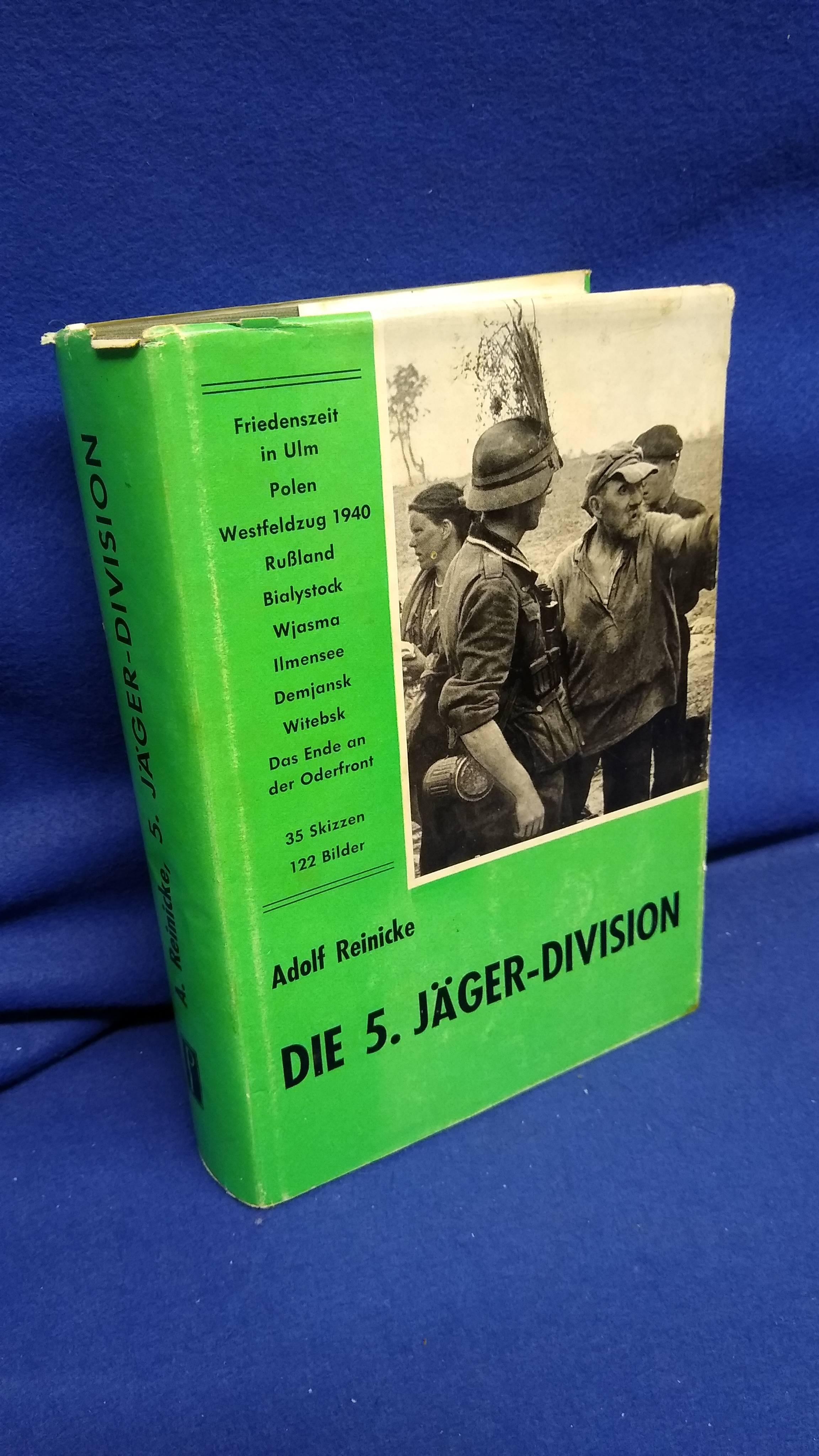 Die 5. Jäger-Division 1939-1945.