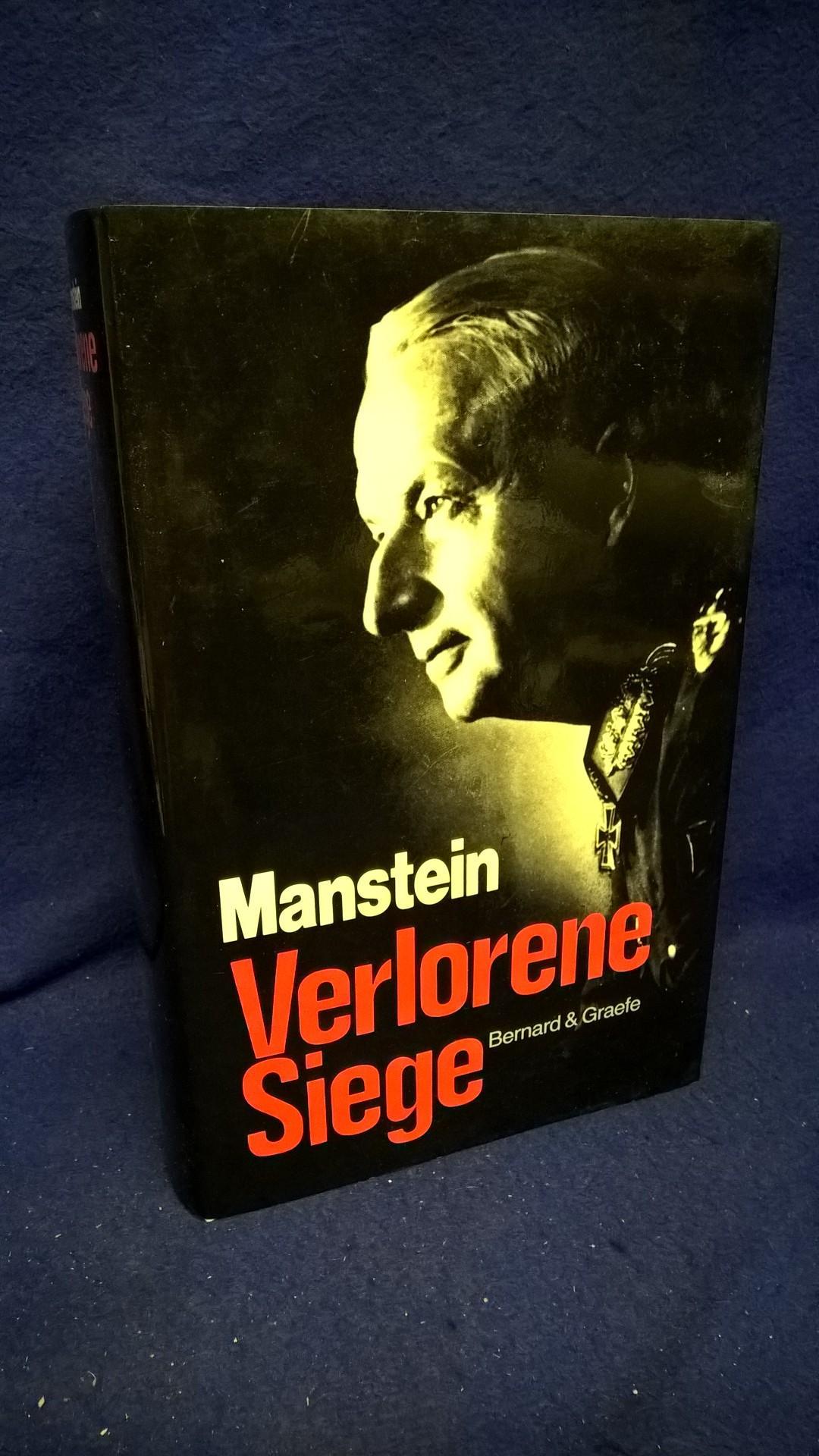 Verlorene Siege. Erinnerungen 1939-1944.