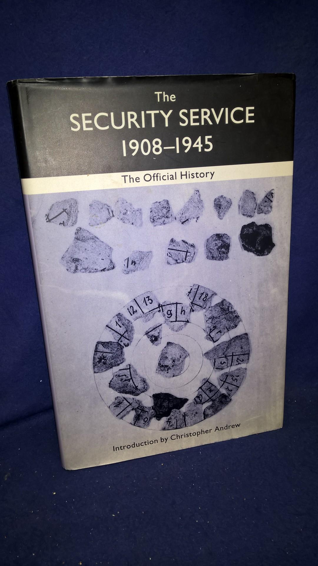 The Security Service 1908-1945. The Official History