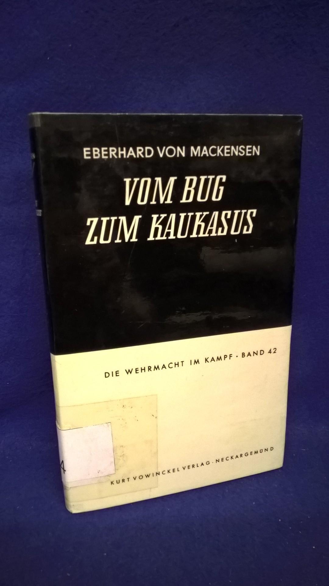Die Wehrmacht im Kampf, Band 42: Vom Bug zum Kaukasus. Das III. Panzerkorps im Feldzug gegen Sowjetrußland 1941/42.