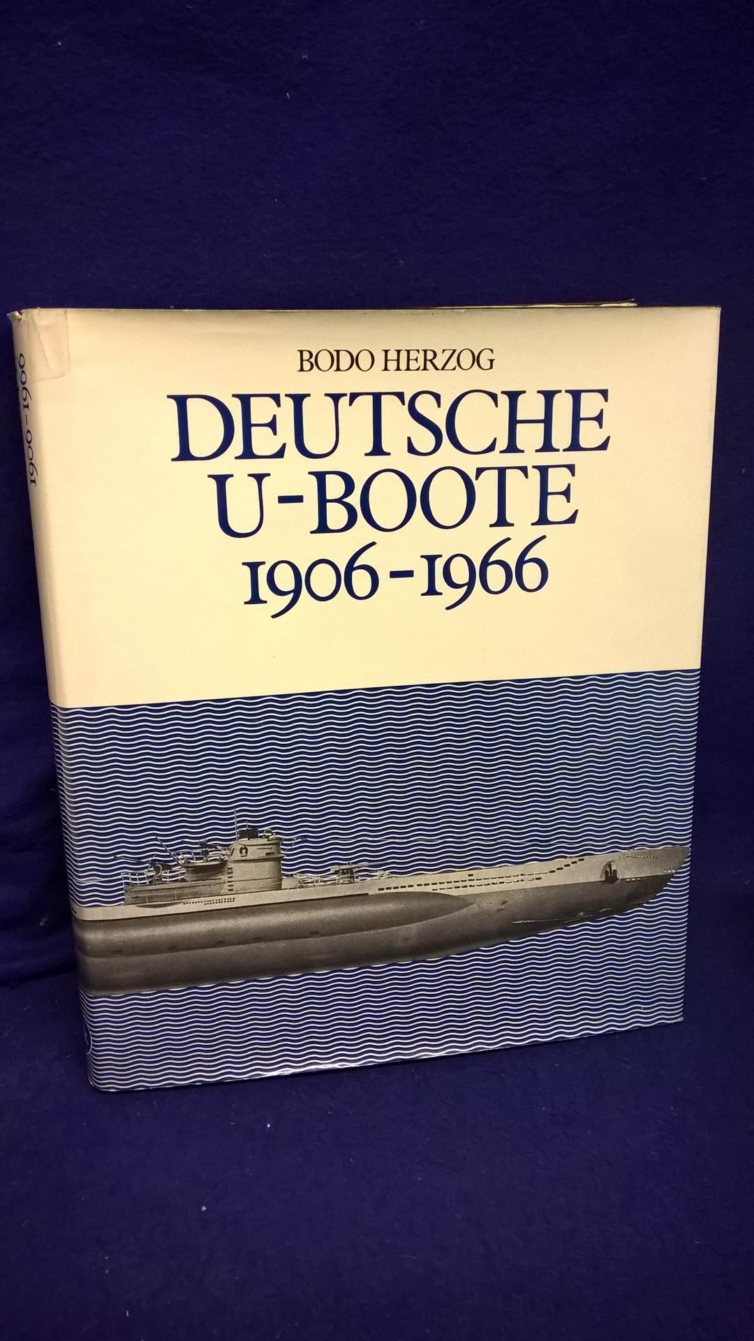 Deutsche U-Boote 1906-1966