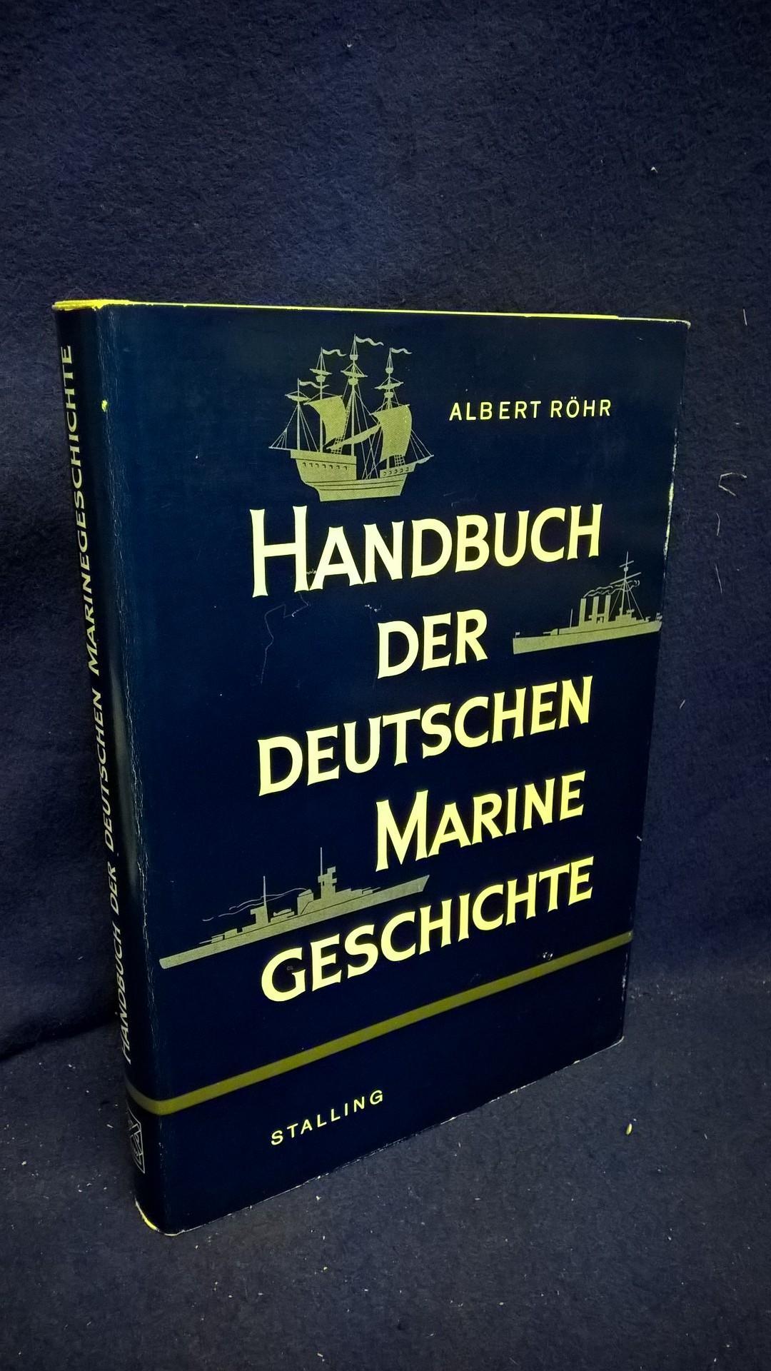 Handbuch der deutschen Marine Geschichte