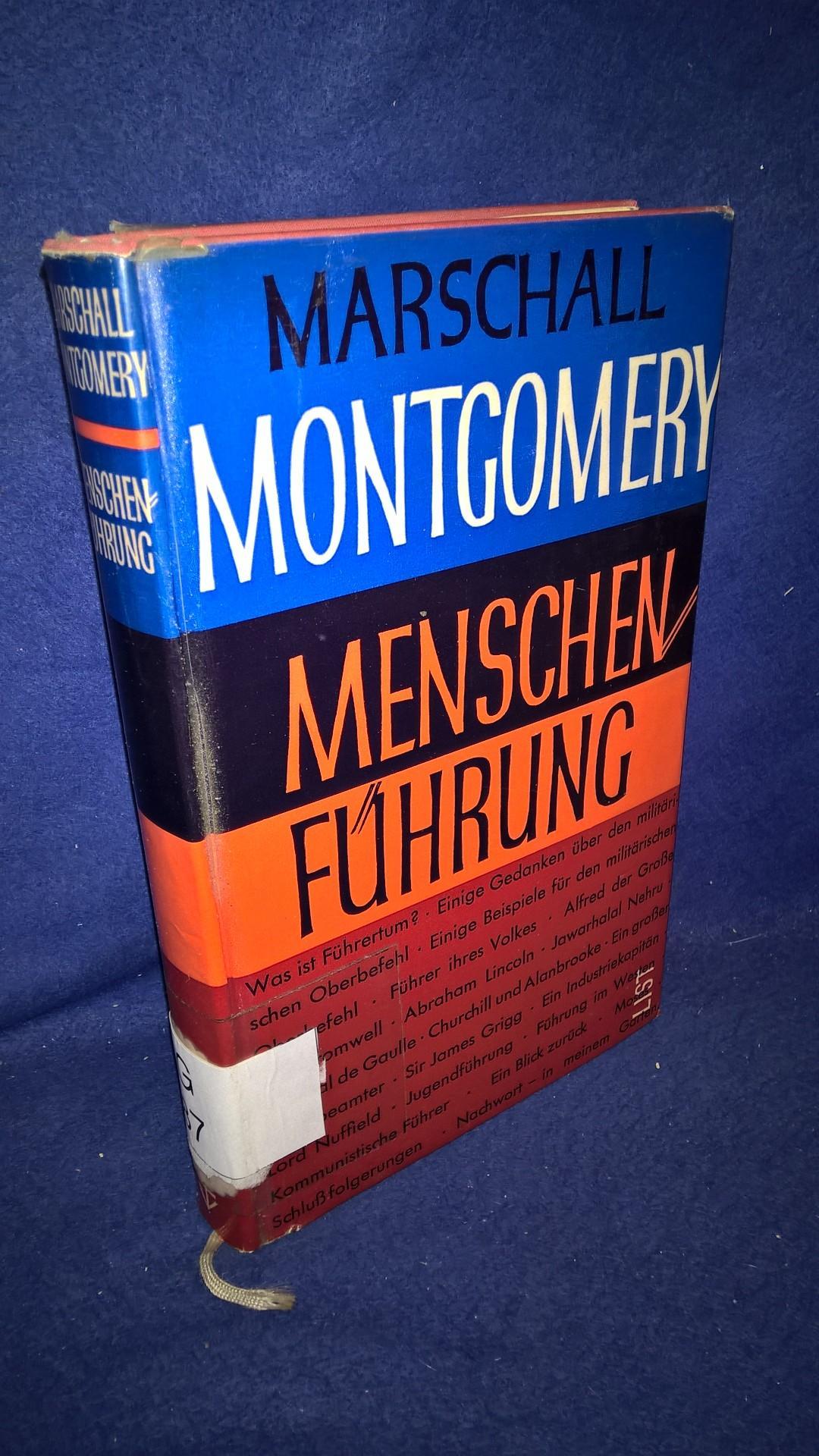 Menschenführung. Marschall Montgomery.