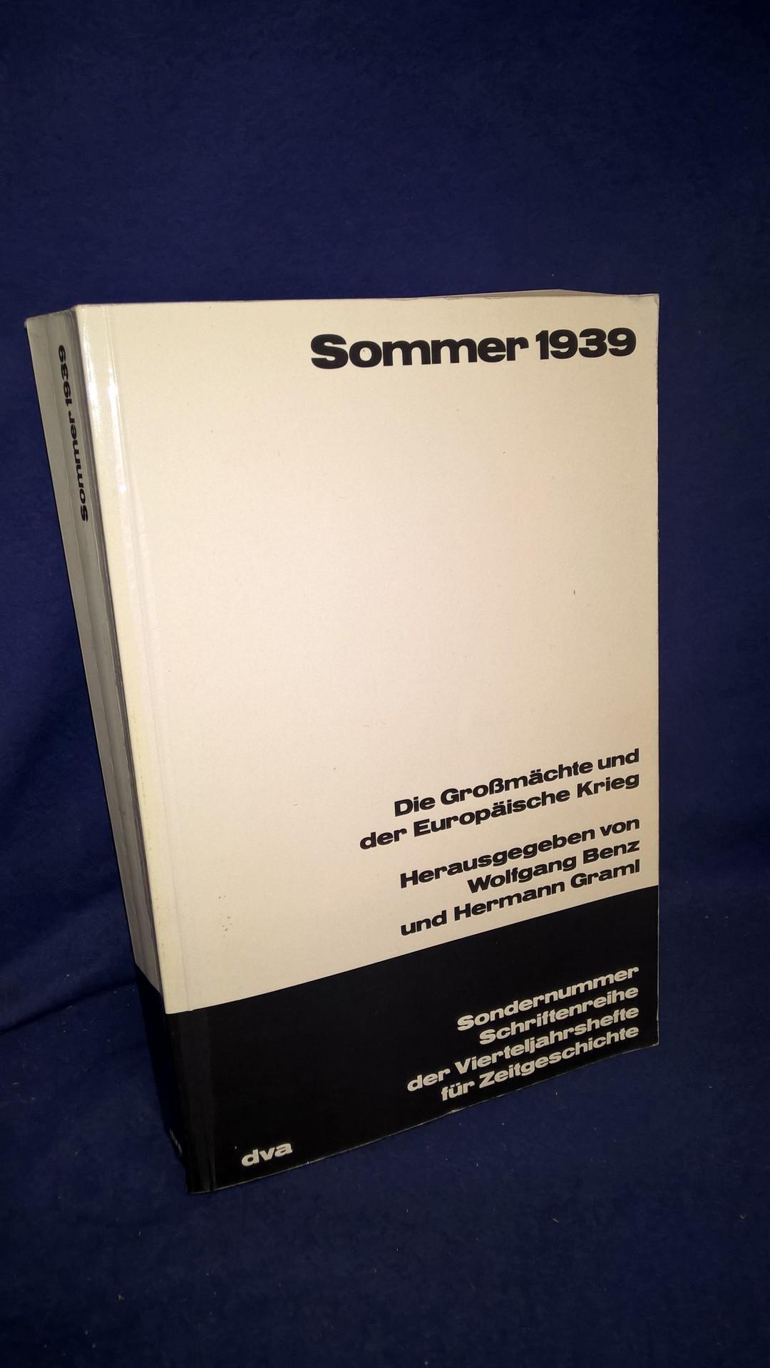 Sommer 1939 - Die Großmächte und der Europäische Krieg
