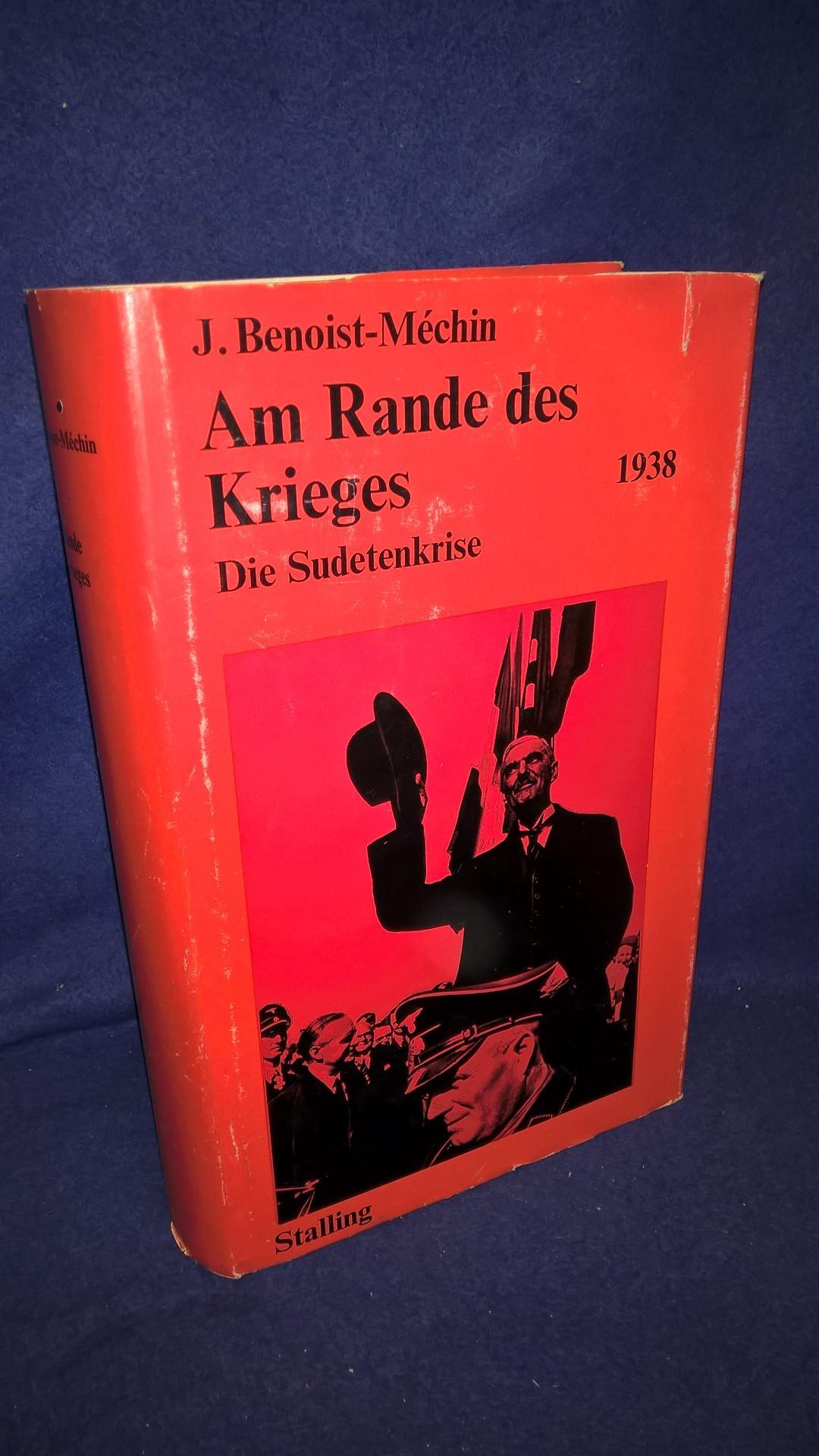 Am Rande des Krieges 1938 - Die Sudetenkrise