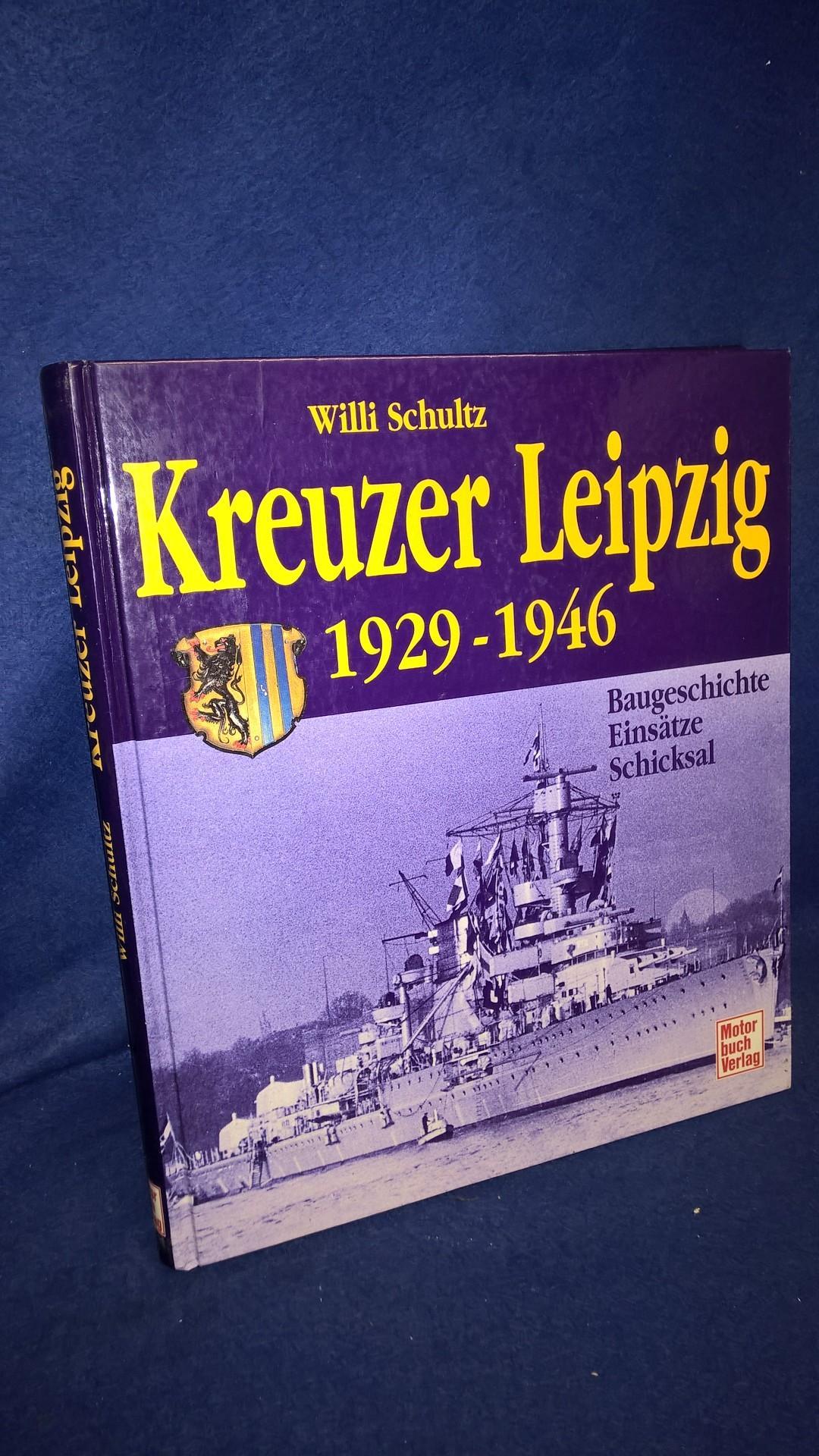 Kreuzer Leipzig Baugeschichte, Einsätze, Schicksal 1929 - 1946.