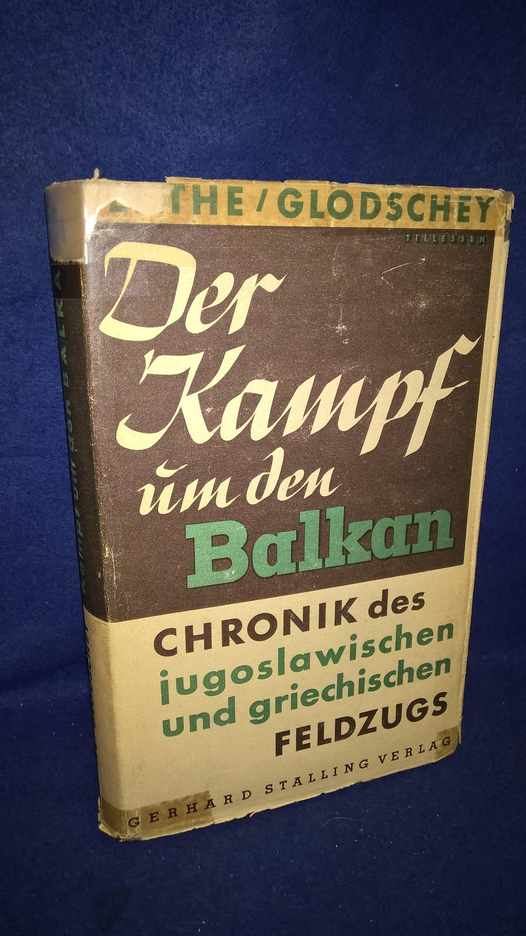 Kampf um den Balkan. Chronik des jugoslawischen und griechischen Feldzugs