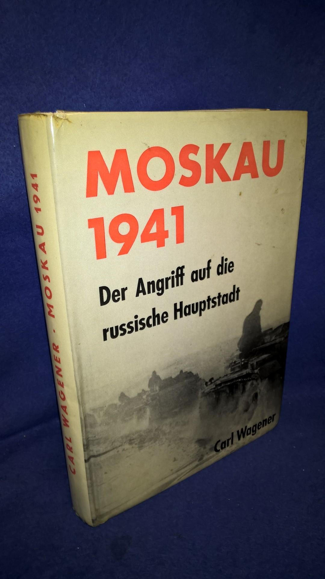 Moskau 1941. Der Angriff auf die russische Hauptstadt.