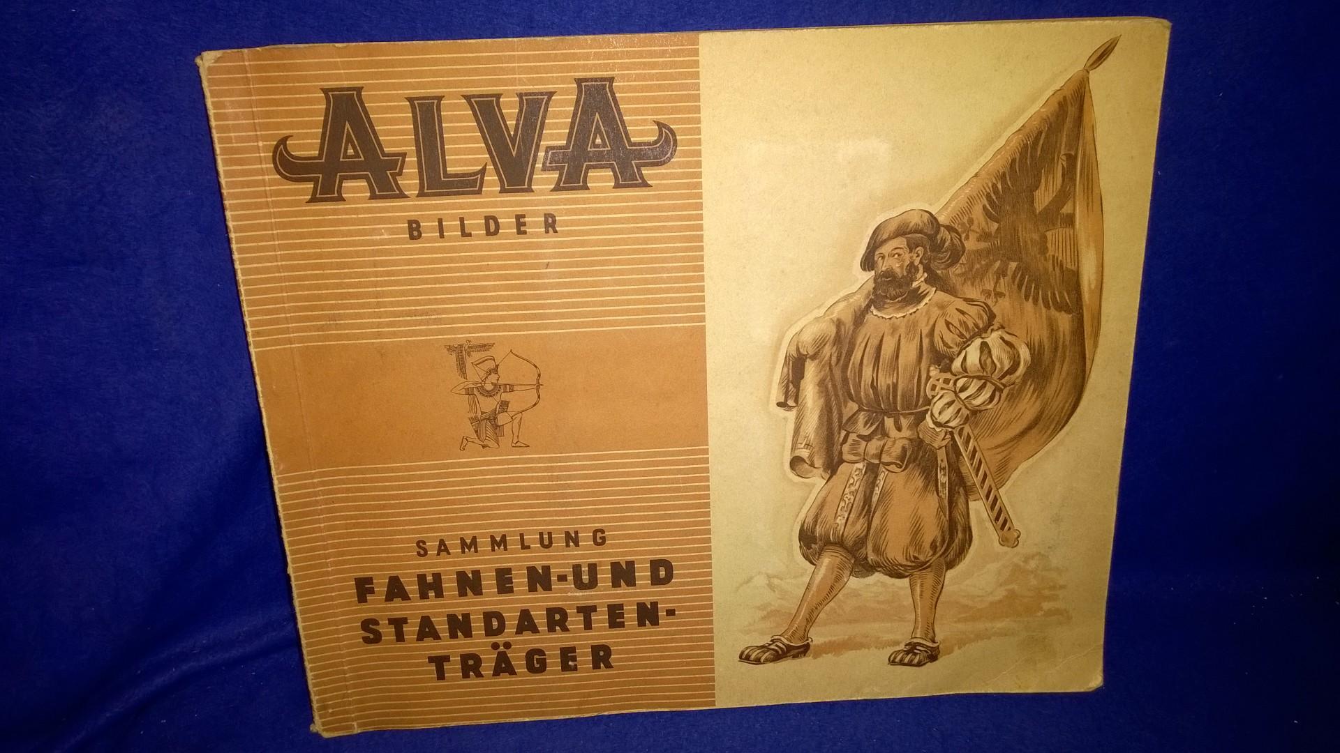 Alva Bilder. Fahnen- und Standarten-Träger. Album 1.