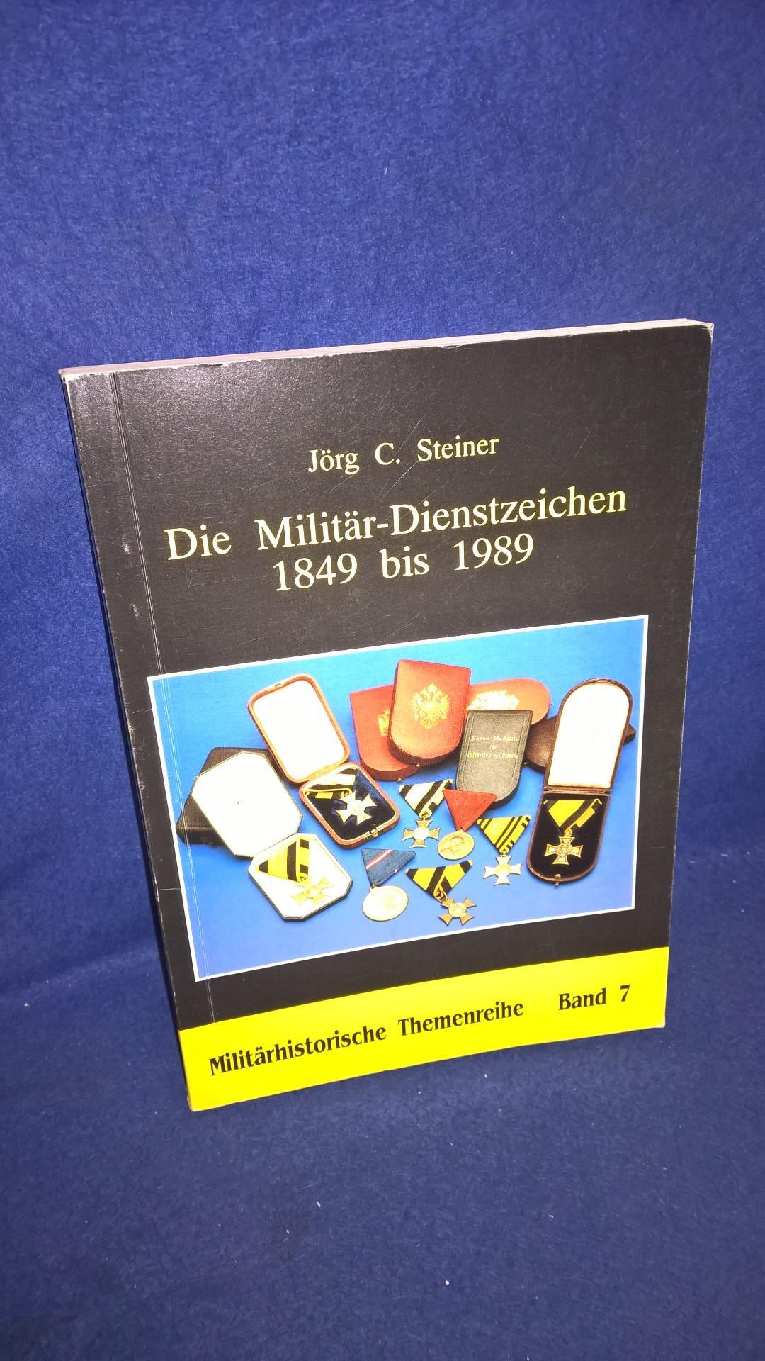 Die Militär-Dienstzeichen 1849-1989. Militärhistorische Themenreihe, Band 7.