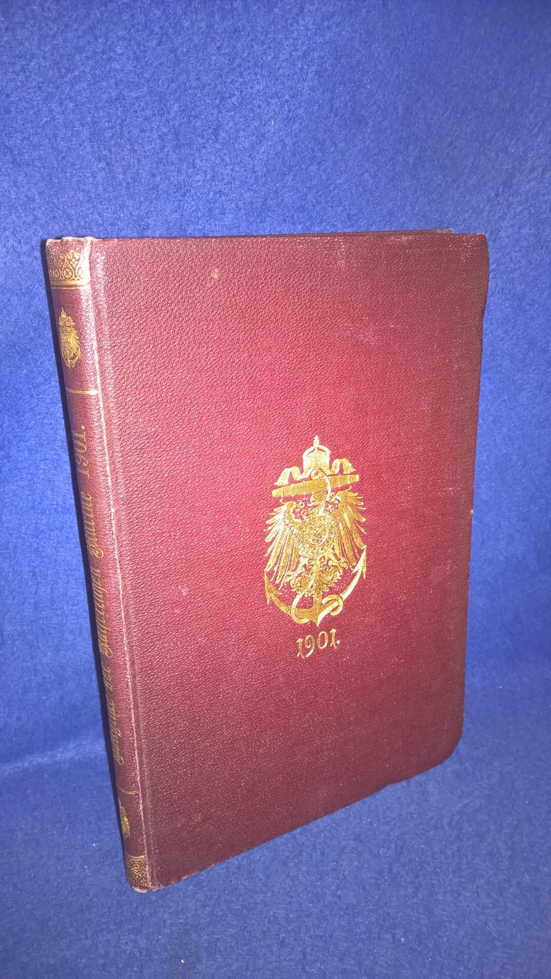 Rang- und Quartierliste der Kaiserlich Deutschen Marine für das Jahr 1901