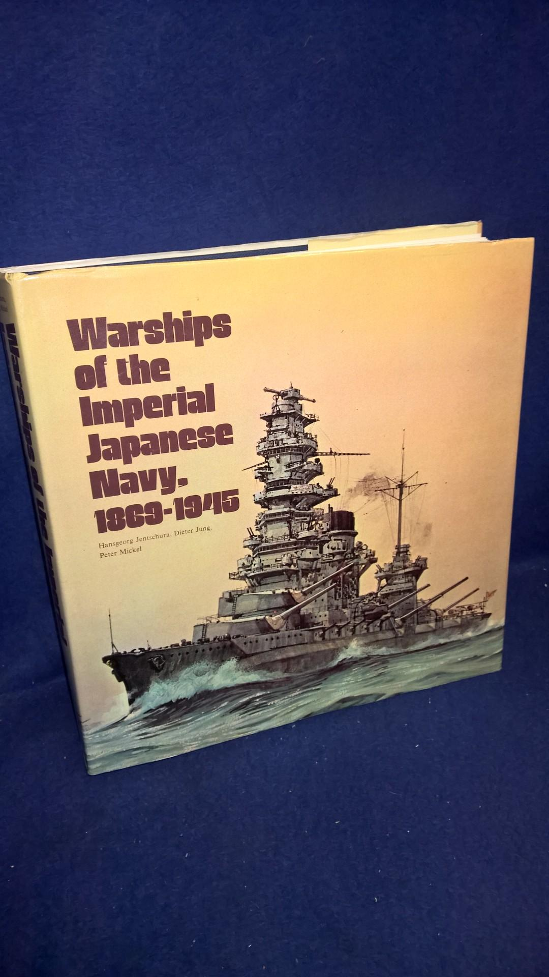 Warships of the Imperial Japanese Navy, 1869-1945.
