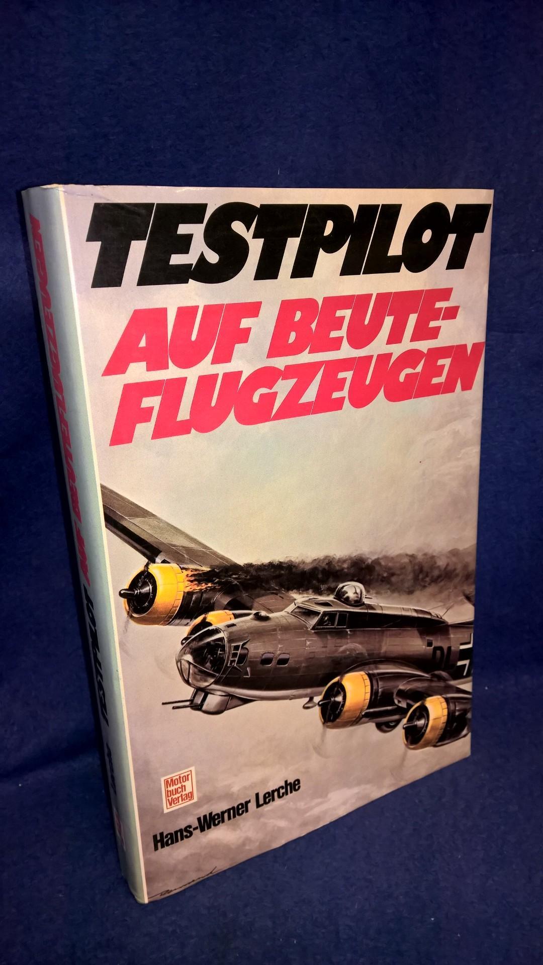 Testpilot auf Beuteflugzeugen